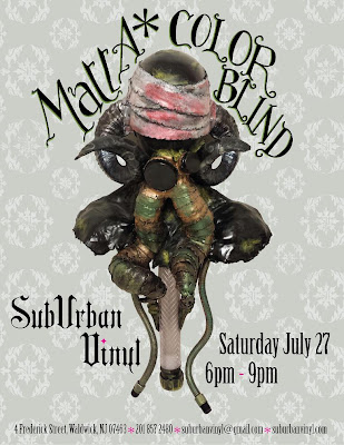 "MattA*'s ""Color Blind"" Solo Art Show at Suburban Vinyl"