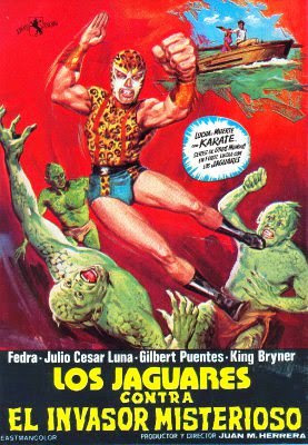 Los jaguares contra el invasor misterioso (The Jaguars Vs. The Mysterious Invader)(1975)