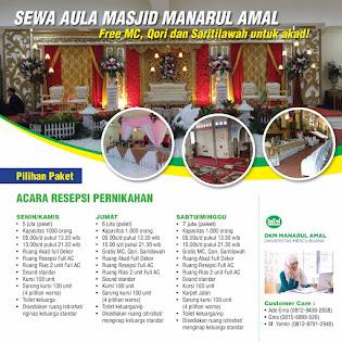 Gedung Pernikahan Jakarta Barat