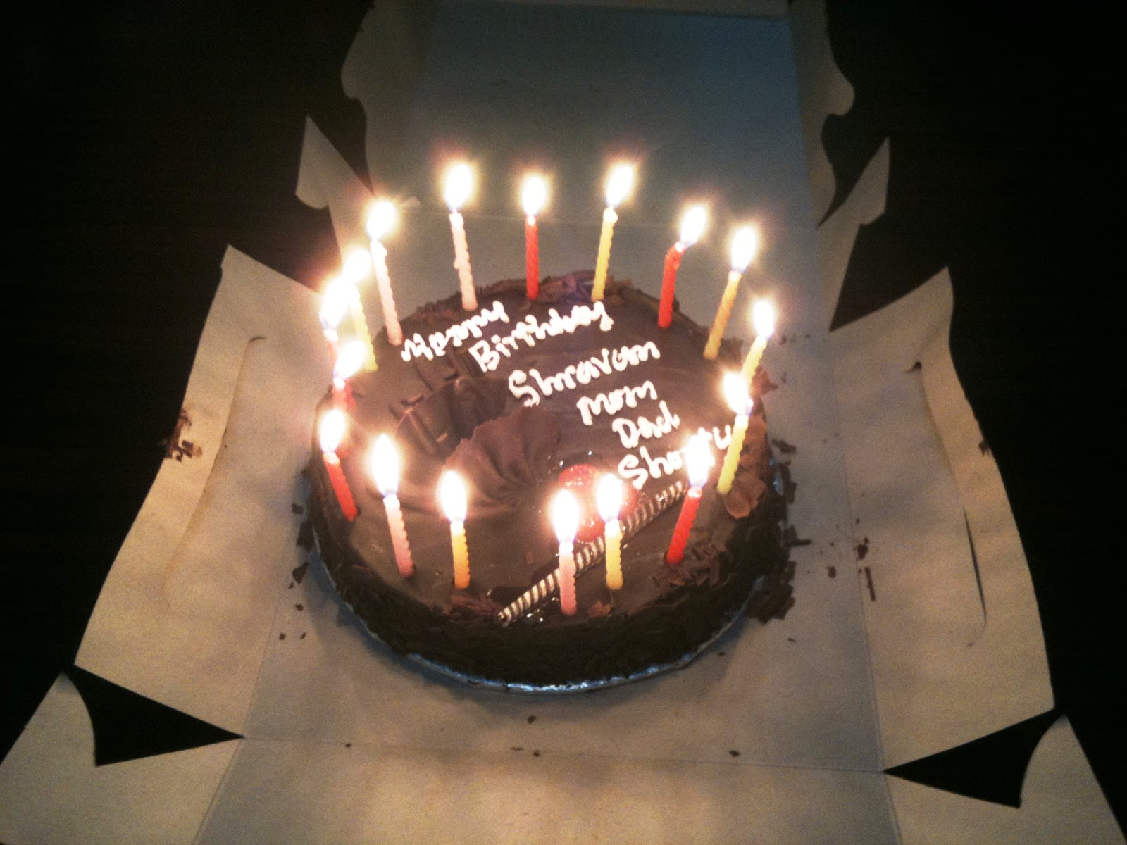Cake Images With Name Kartik : Karthik s Thoughts (Come what may!!): Son s Birthday, 200 ...