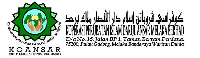Koperasi Perubatan Islam Darul Ansar Melaka Berhad - KOANSAR -