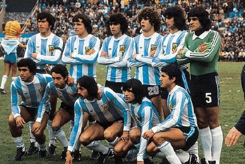Seleção Argentina campeão copa do mundo 1978