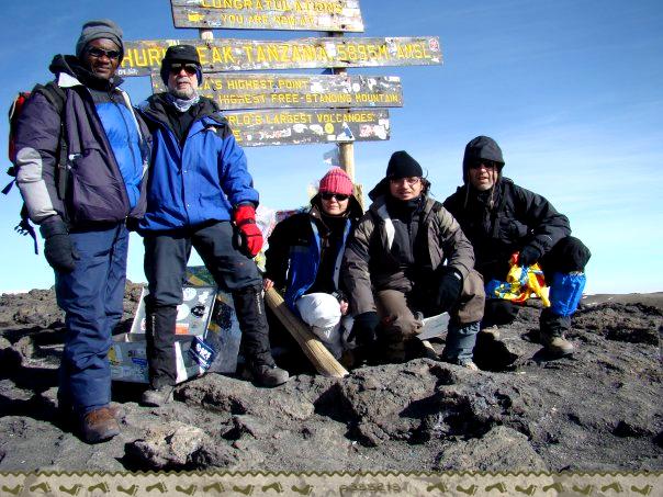Uhuru Peak - Kilimanjaro