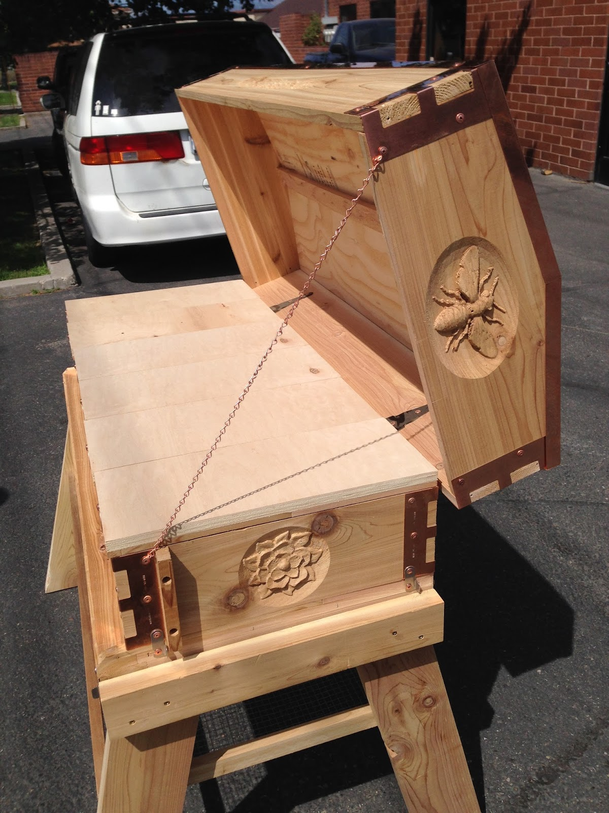 Top Bar Hive With Langstroth Standards