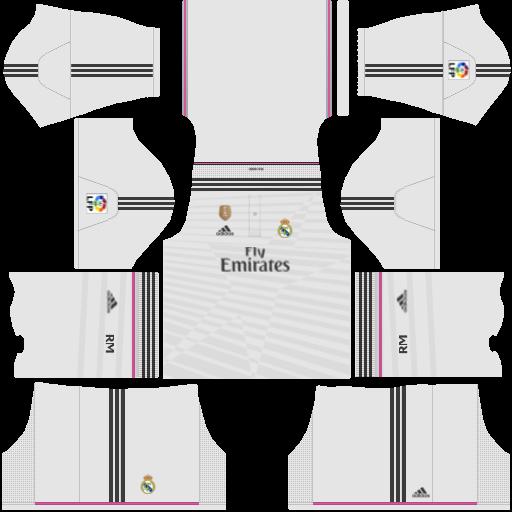 Image 2015 Real Madrid 512x512 Kits Download