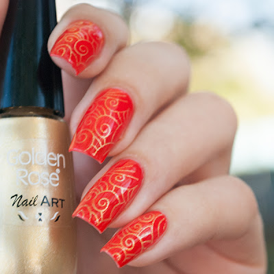Golden Rose Selective 31 + Golden Rose Nail Art 108 + Nailz Craze 02