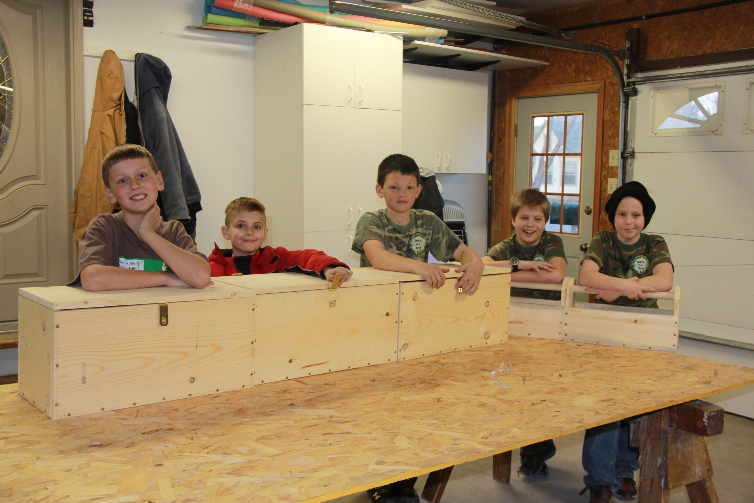 Village Of Exeter Exeter Cub Scouts Complete Woodworking