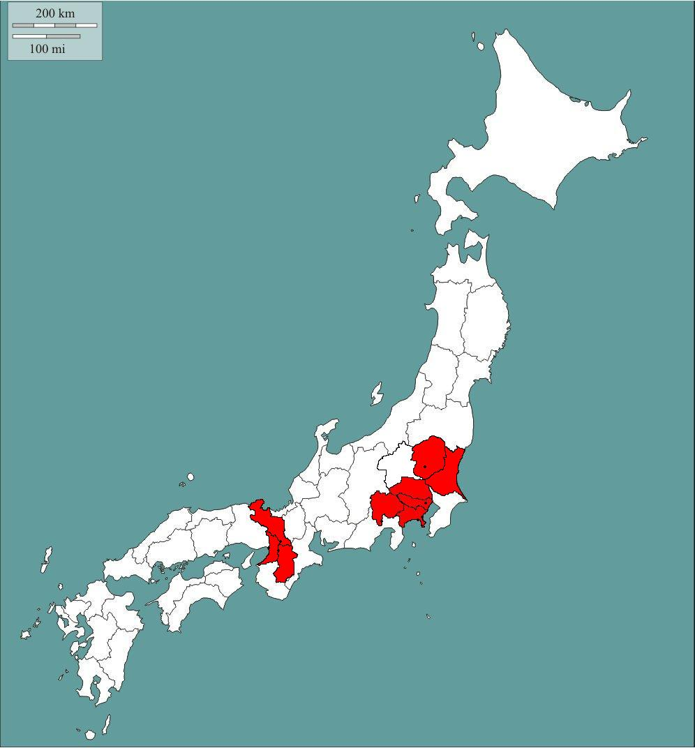 The Japan Chronicles Maps Of Japan 日本の地図 にほんのちず - Japan map kyoto