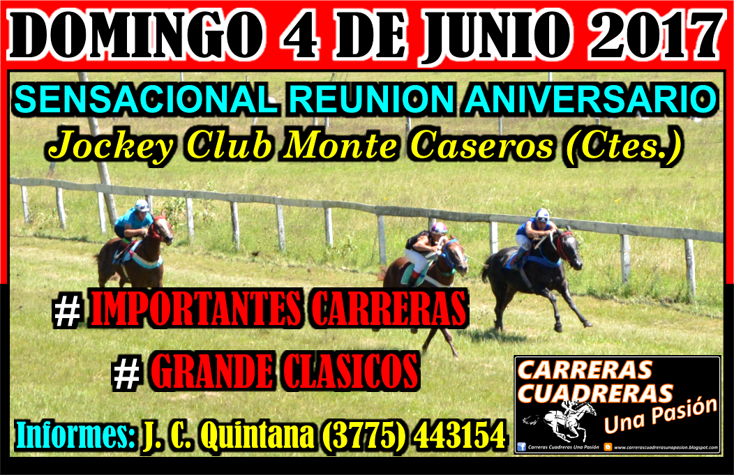 MONTE CASEROS - 04.06.2017