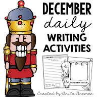 DECEMBER DAILY WRITING ACTIVITIES