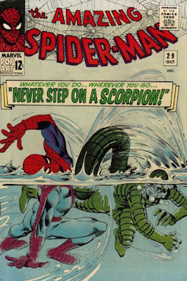 Amazing Spider-Man #29, the Scorpion is back