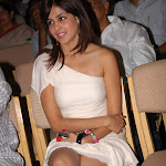 Genelia D'Souza Super Hot Legs Show In a Short White Dress