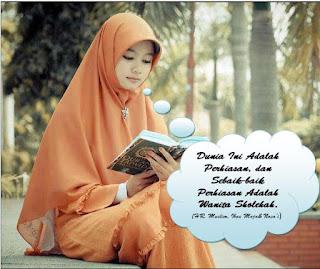 Ciri Ciri Wanita yang Akan membawa Rezeki Bagi Suaminya