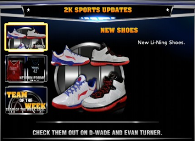 New Li-Ning Shoes NBA 2K14