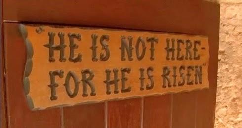 Ele não está aqui