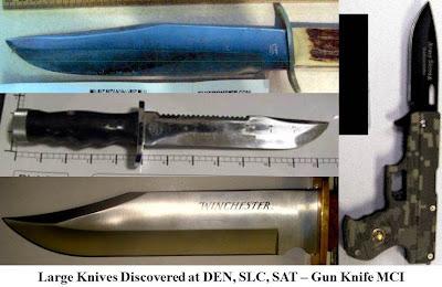 4 large knives.