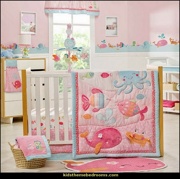 Ocean Themed Baby Bedroom Decorating Ideas