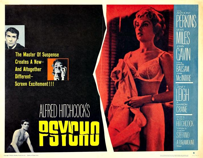 Cartel de Psicosis (1960)