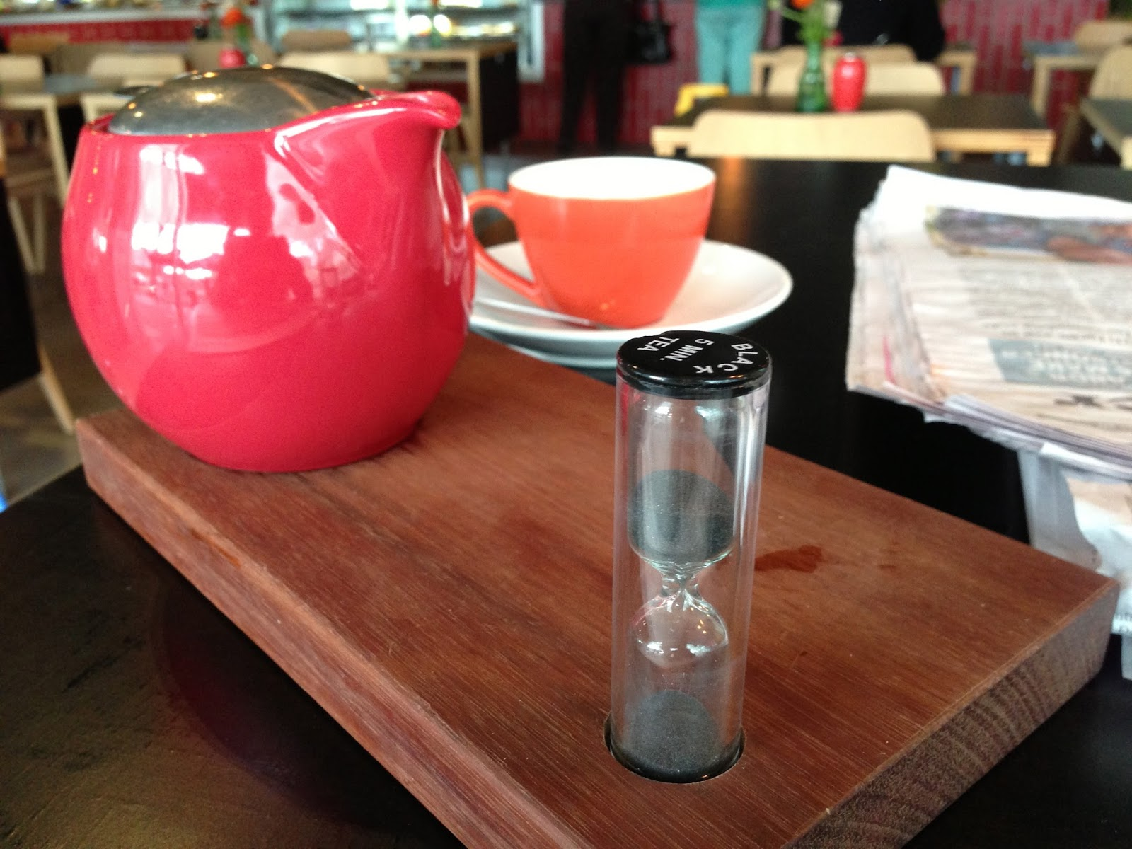 Argo on the Square, Adelaide - perfectly brewed tea