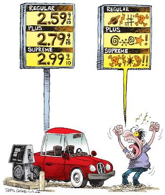 gas prices cartoon. gas prices cartoon. high gas