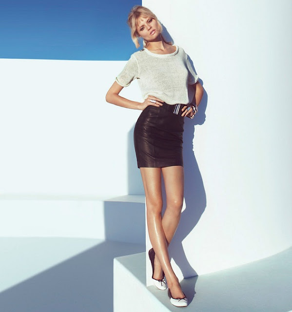H&M Spring Key Pieces 2013 featuring Magdalena Frackowiak