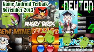 Free download best games for Android on November 2013 full .apk Play Store