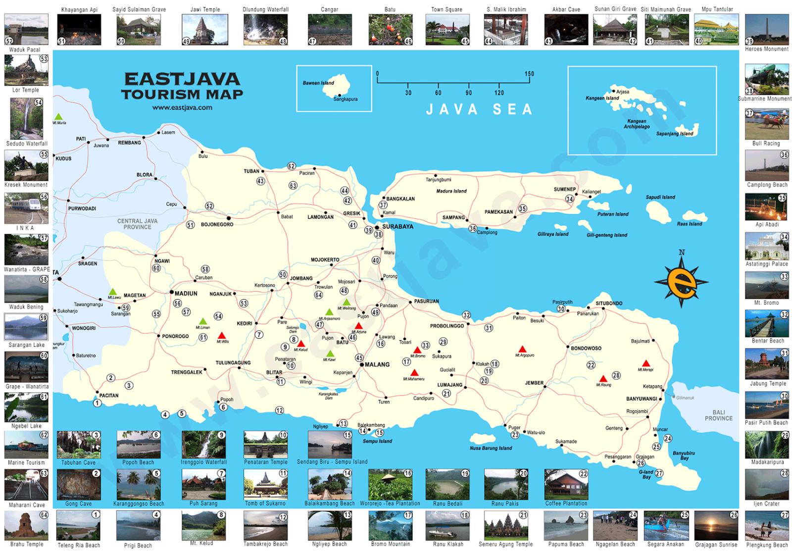 Tempat Wisata Terbaik di Jawa Timur