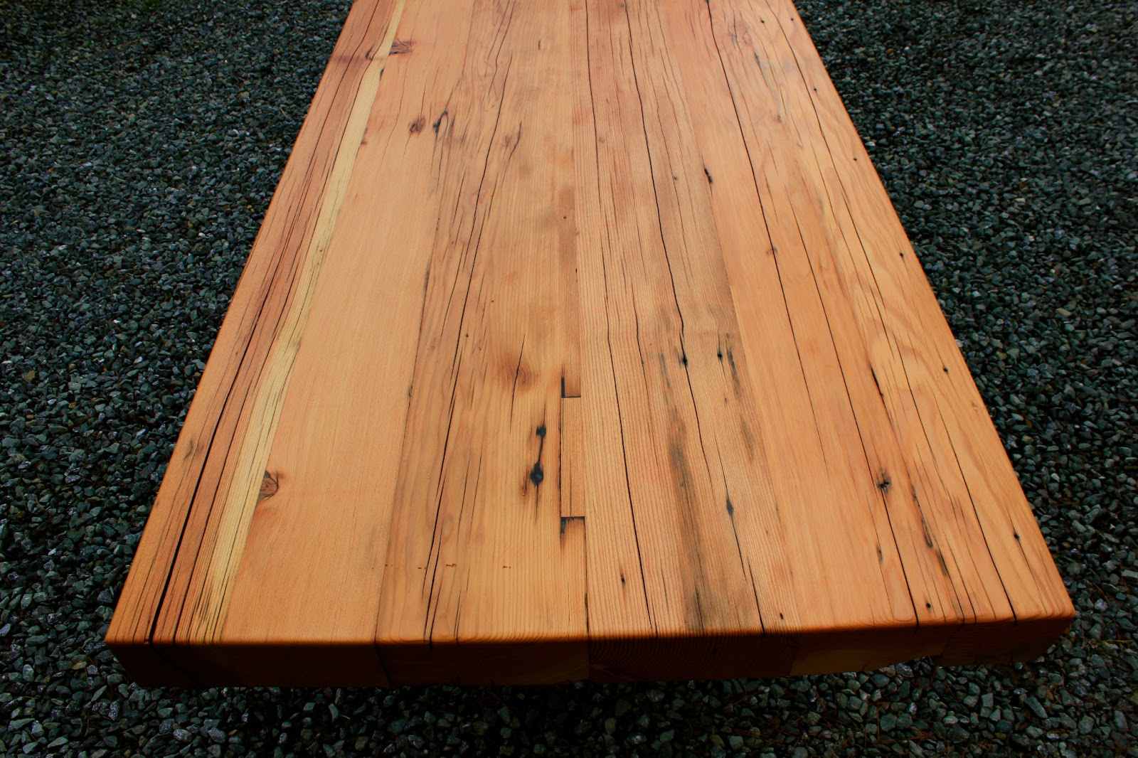 This Piece Was Made From Old Weathered Upcycled Douglas Fir That Was  Brought Back To Life In This Heirloom Table. Buy On ETSY