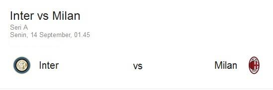 Preview Jelang Laga Derby Inter Milan vs AC Milan Senin, 14 Sept 2015