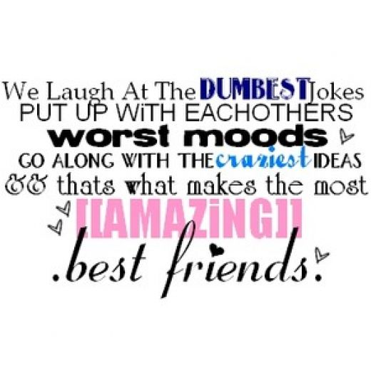 funny best friend quotes and sayings