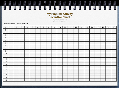 ... at Pointe Viven: My Physical Activity Incentive Chart by Jesse Bluma