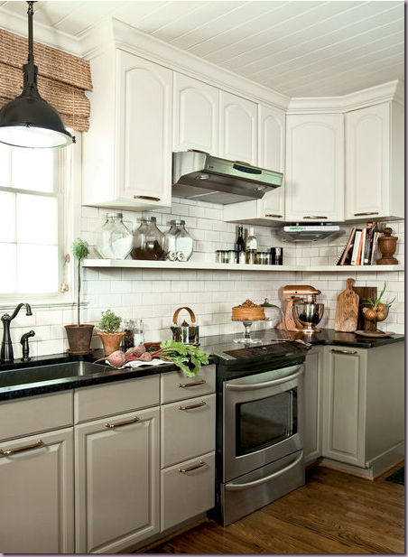 Kitchen Cabinets Different Colors Top Bottom : Type a day dreaming about kitchens