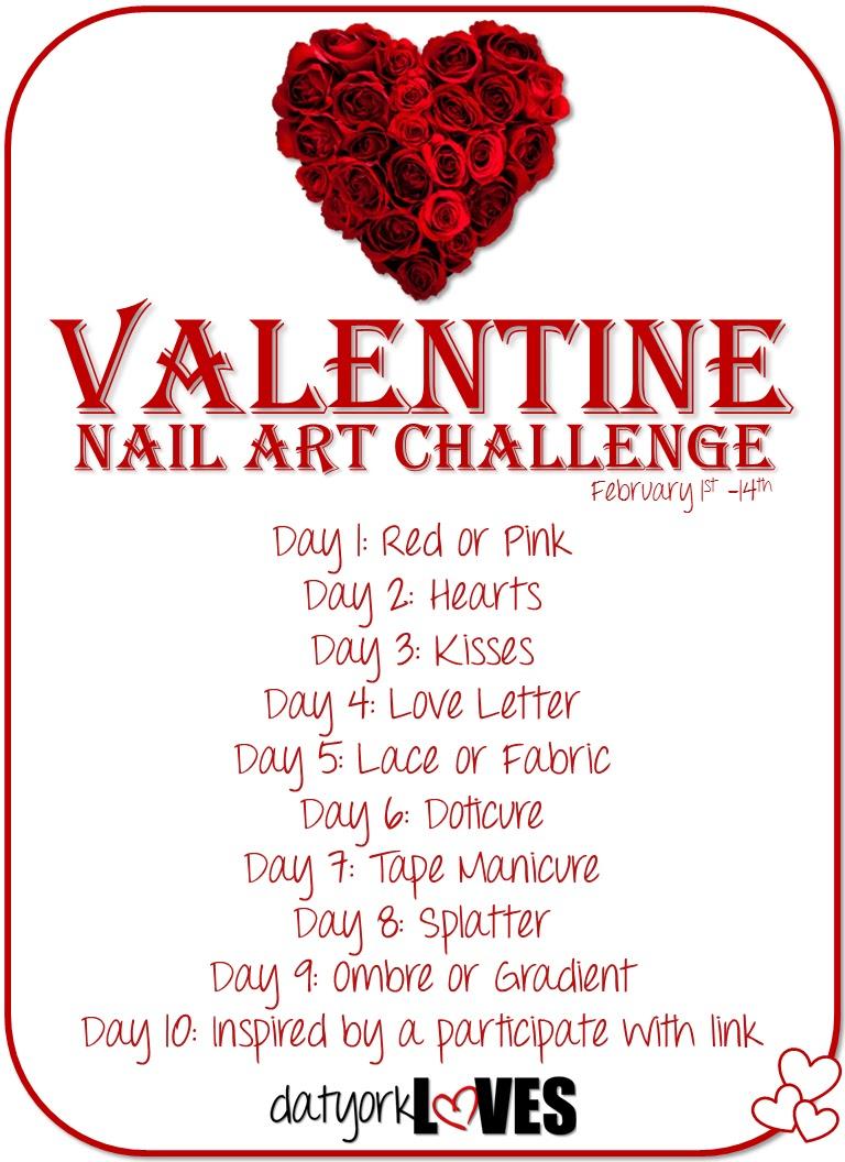 Valentine Nail Art Challenge