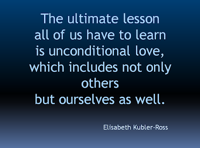 The Ultimate Lesson Unconditional Love