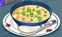 طبخ حساء البطاطس