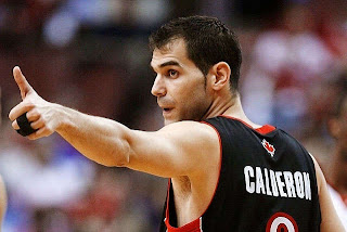 Jose Calderon toronto raptors assists