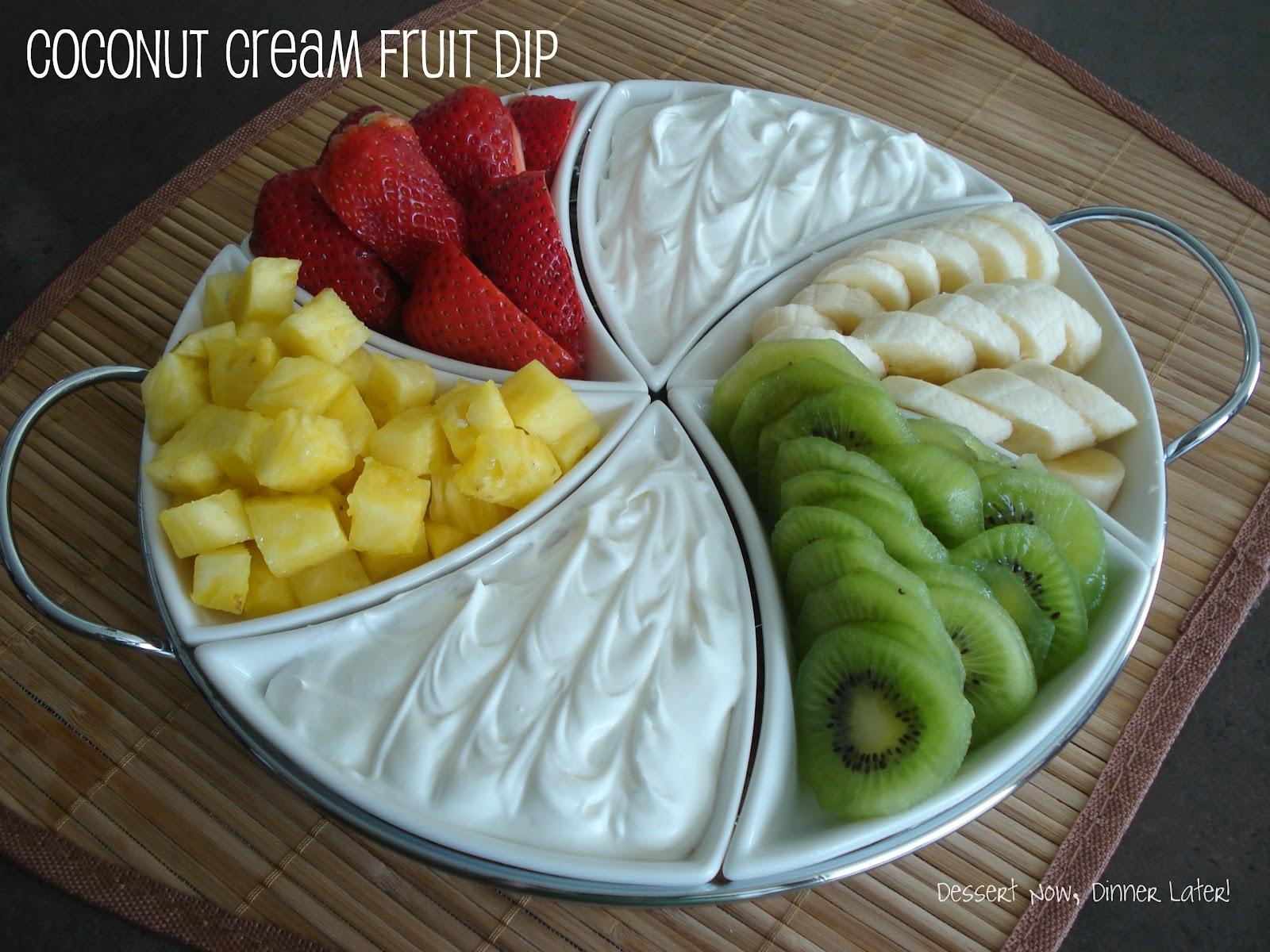 how to make fruit dip fruit salad with marshmallows
