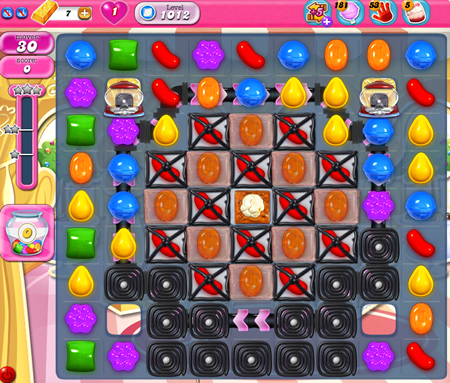 Candy Crush Saga 1012