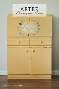 DIY Furniture Projects & Do Tell Tuesday on Diane's Vintage Zest!
