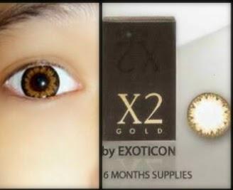 Harga softlens X2 Gold murah