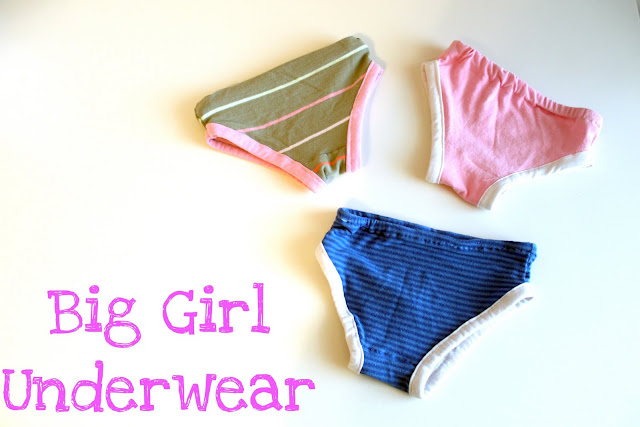 sewing for kids: tutorial for girl's 2t/3t underwear