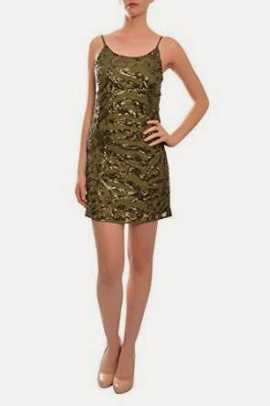 green sequin dress: alice and olivia green sequin dress