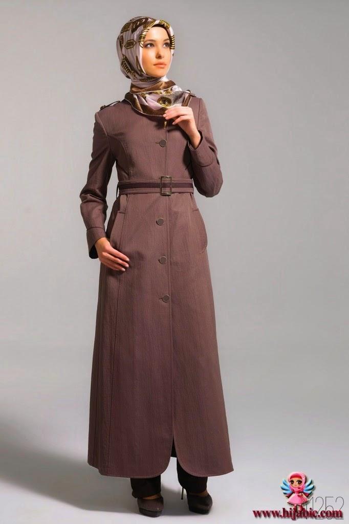 16 contoh baju muslim kerja modis terbaru   kumpulan model