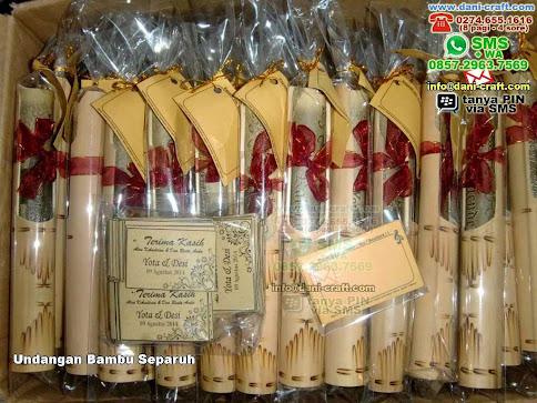 Undangan Bambu Separuh Bambu Sulawesi Tengah