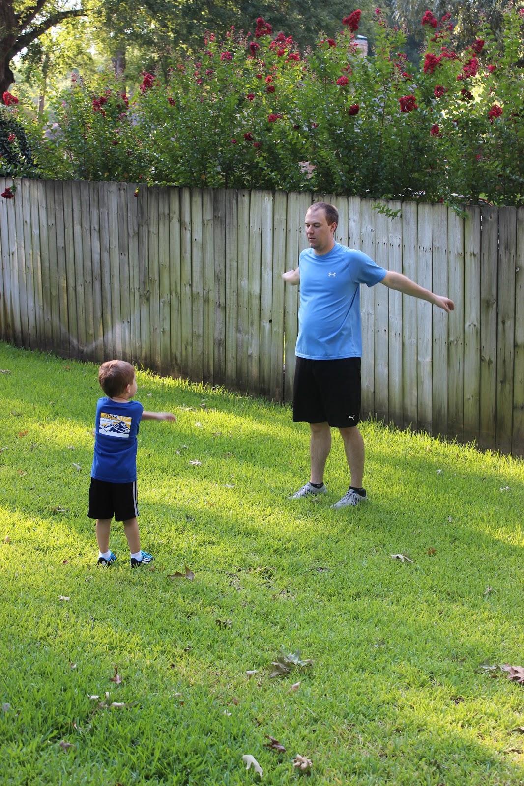 Backyard Soccer Practice