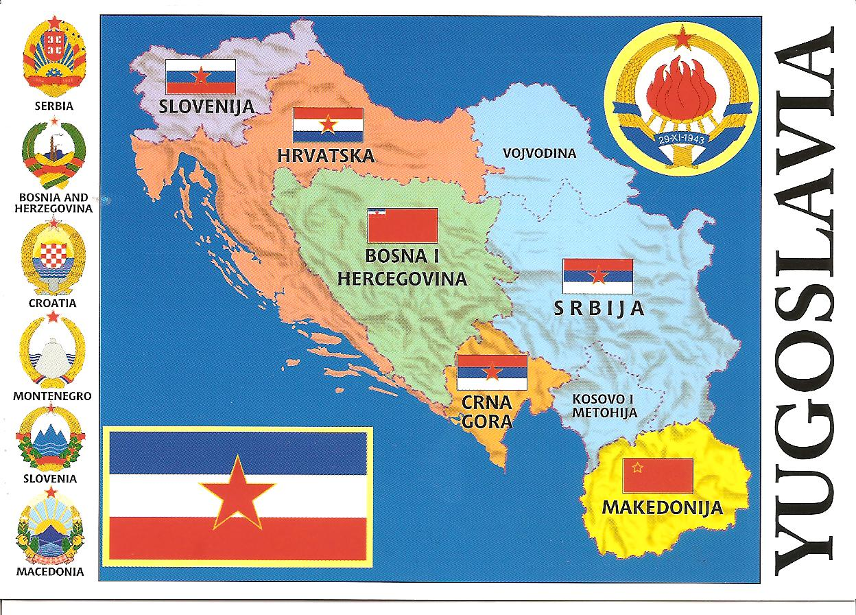 My postcard page serbia map yugoslavia gumiabroncs Choice Image
