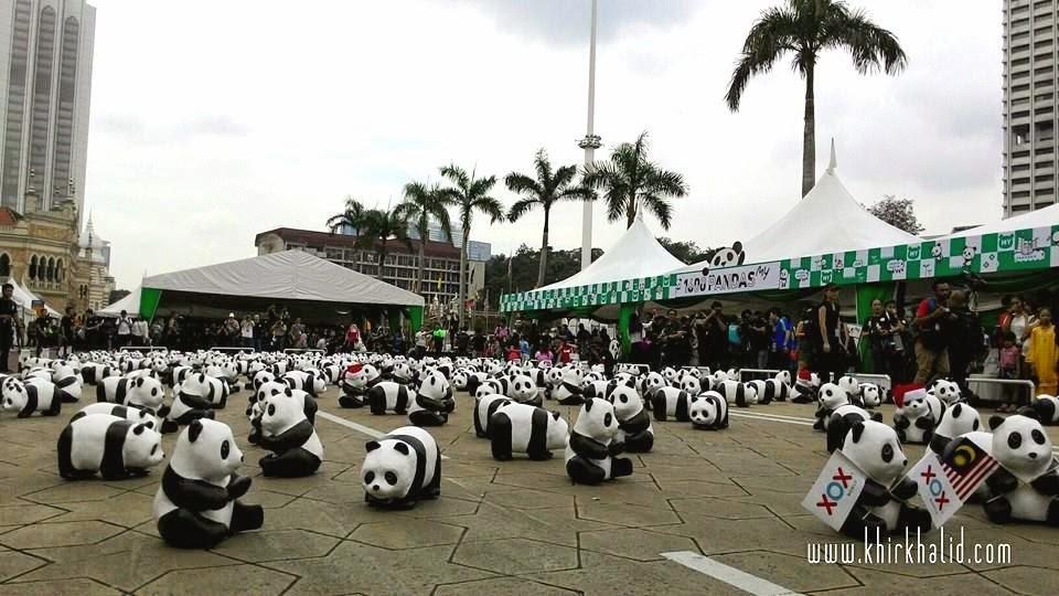 Jelajah 1600 Pandas di Malaysia