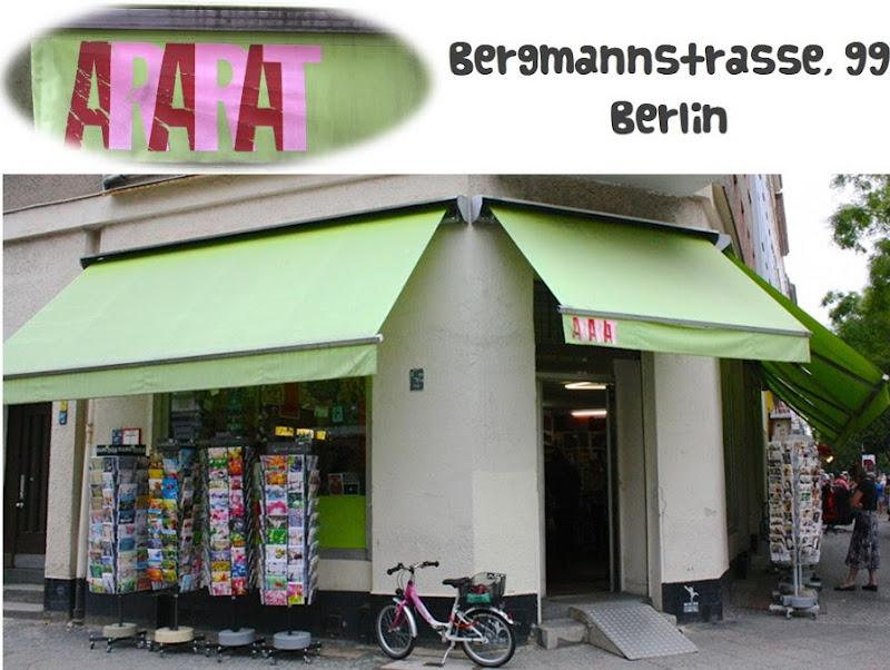 Tienda manualidades Ararat Berlín fachada