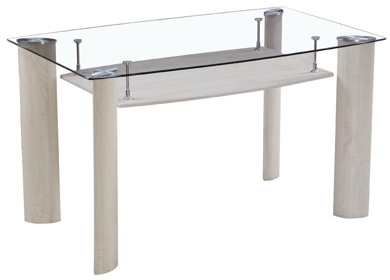 La web de la decoracion y el mueble en la red mesas for Mesas de comedor de cristal y aluminio