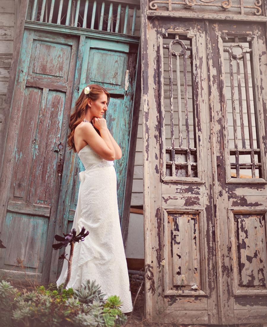 Green Gables Estate Wedding, David's Bridal gown